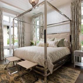 красивая спальная комната фото варианты