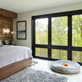 красивая спальная комната фото вариантов