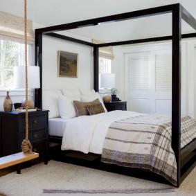 красивая спальная комната идеи варианты