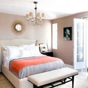 красивая спальная комната идеи вариантов
