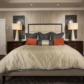 красивая спальная комната фото видов