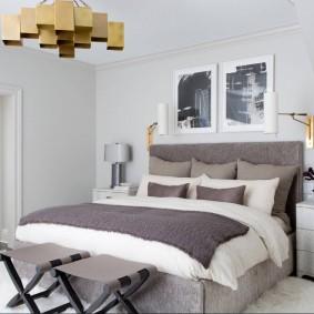красивая спальная комната виды дизайна