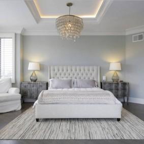 красивая спальная комната виды декора