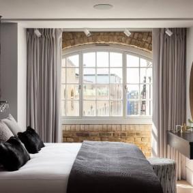 красивая спальная комната дизайн