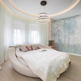 кровать для спальни идеи дизайна