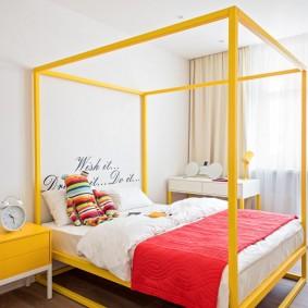 кровать для спальни фото декора