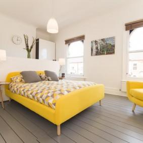 кровать для спальни декор идеи