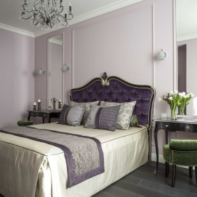кровать для спальни идеи декор