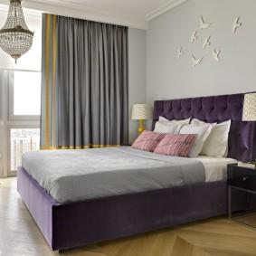 кровать для спальни идеи декора