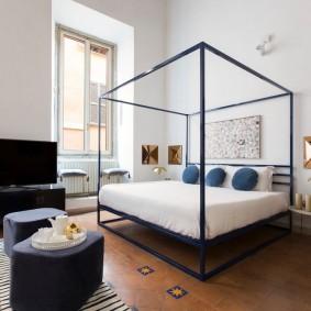 кровать для спальни фото интерьер