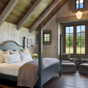 кровать для спальни фото интерьера