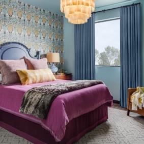 кровать для спальни интерьер идеи