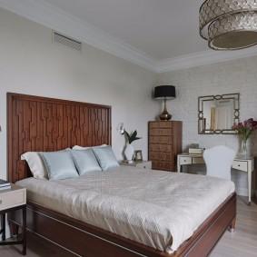 кровать для спальни идеи интерьер