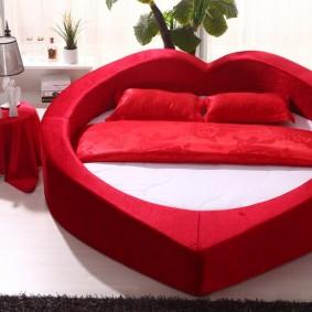 кровать для спальни фото оформление