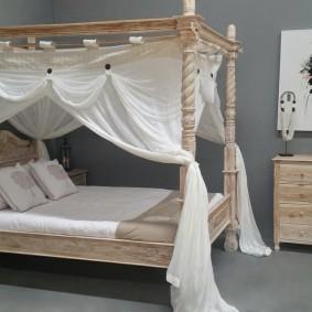 кровать для спальни виды дизайна