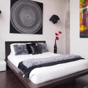 кровать для спальни дизайн