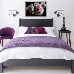 кровать для спальни дизайн фото