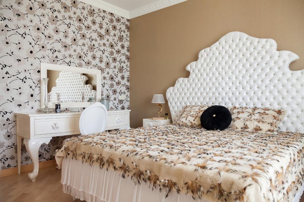 кровать в спальне идеи дизайна