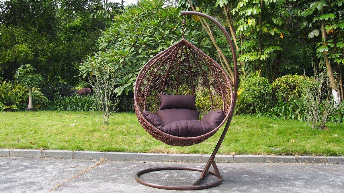 круглые кресла плетеные