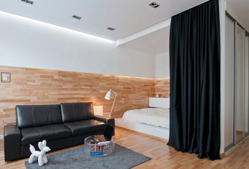 Облицовка ламинатом стены в квартире