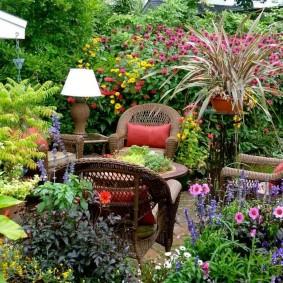 ландшафтный дизайн маленького сада фото