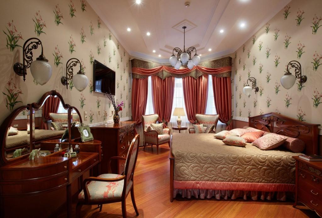 люстры для натяжных потолков в спальне английский стиль