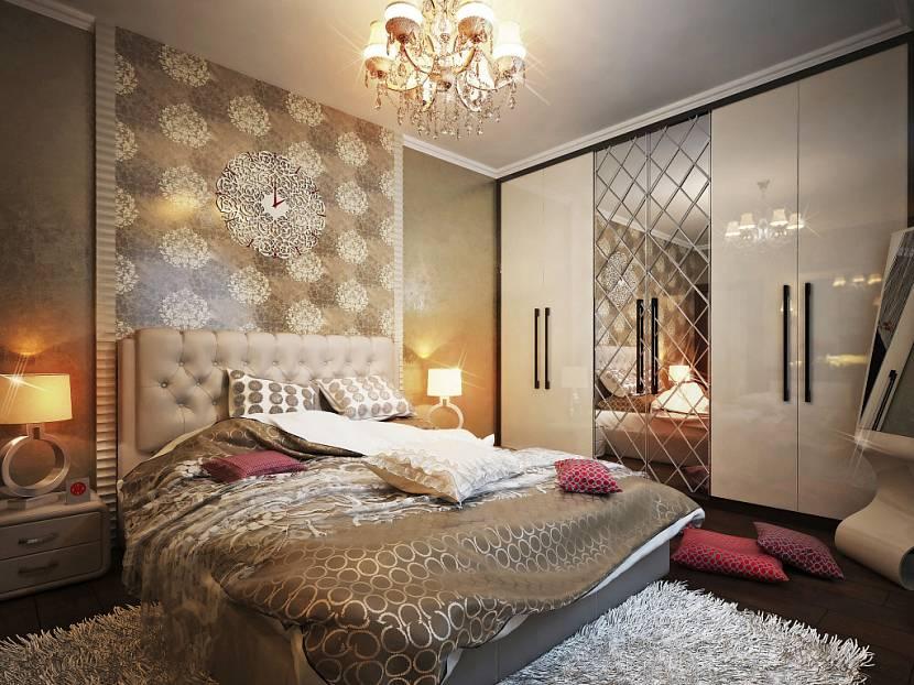 люстры для натяжных потолков в спальне арт деко