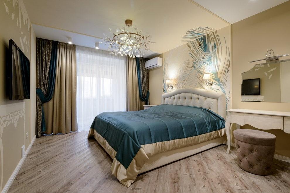 люстры для натяжных потолков в спальне декор