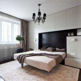 люстры для натяжных потолков в спальне дизайн фото