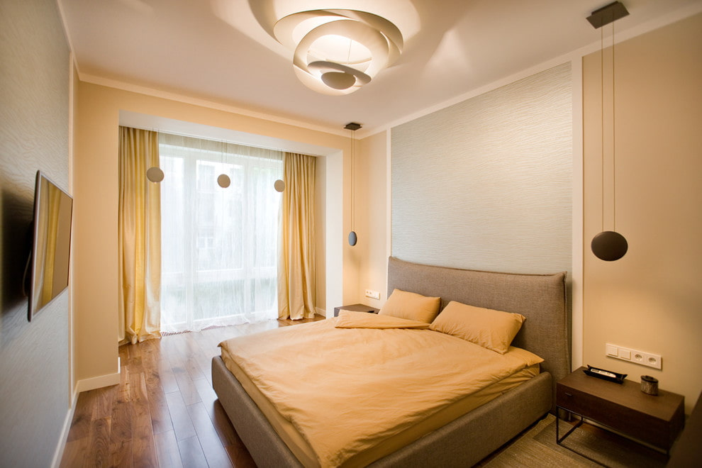 люстры для натяжных потолков в спальне фото декор