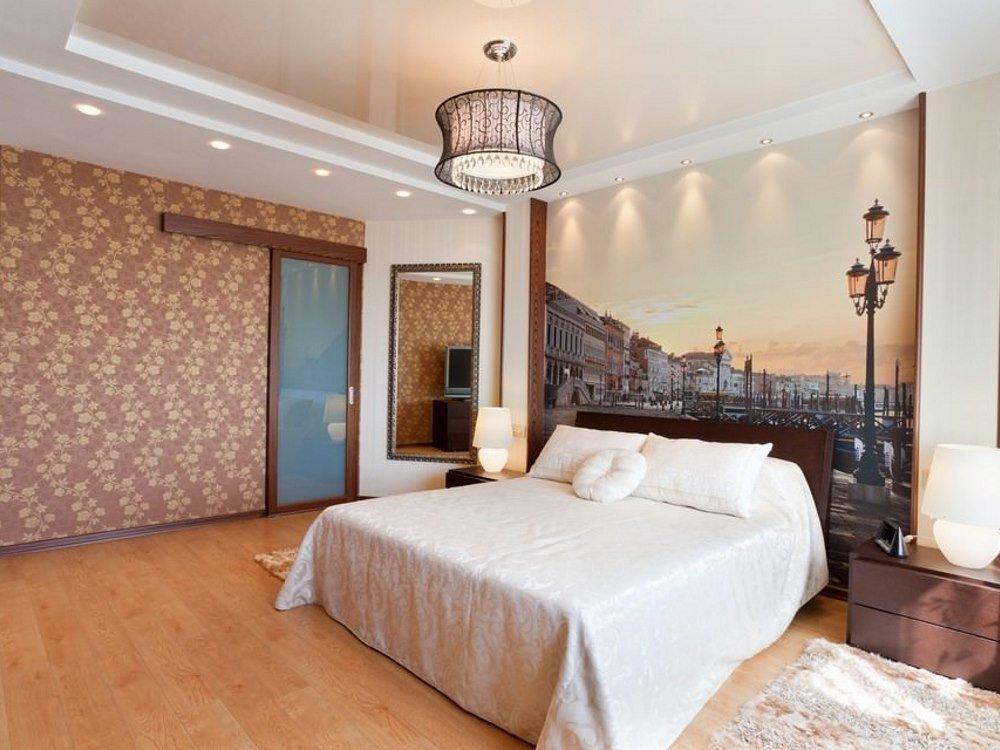 люстры для натяжных потолков в спальне фото дизайна