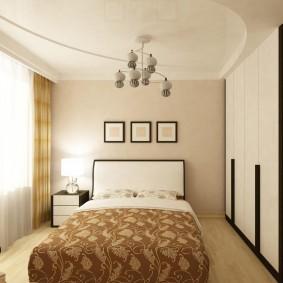 люстры для натяжных потолков в спальне фото идеи