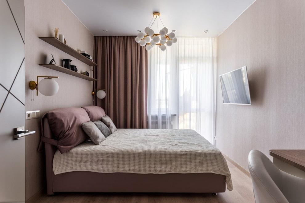 люстры для натяжных потолков в спальне фото