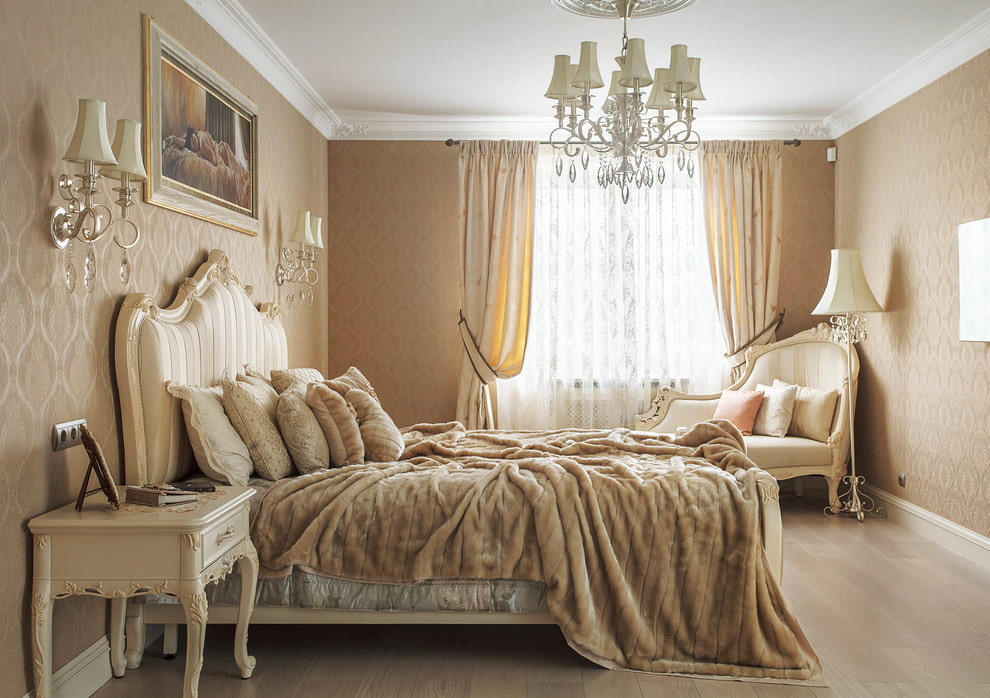 люстры для натяжных потолков в спальне классика