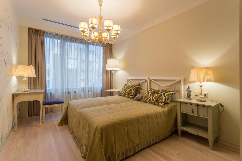 люстры для натяжных потолков в спальне прованс