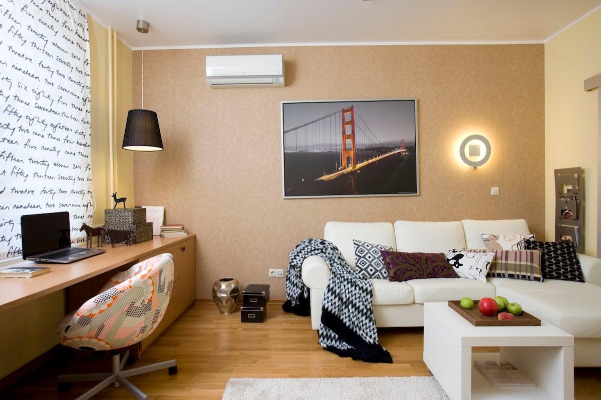 маленькая комната декор фото