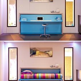 мебель для маленькой квартиры идеи дизайна