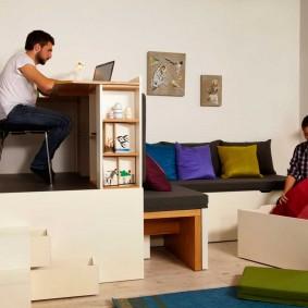 мебель для маленькой квартиры декор фото