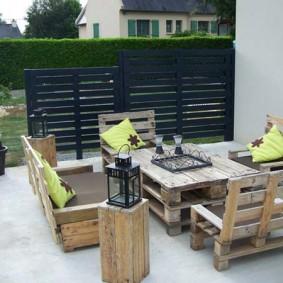 мебель для сада идеи дизайна