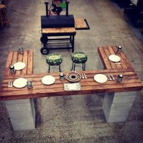 мебель для сада фото декора