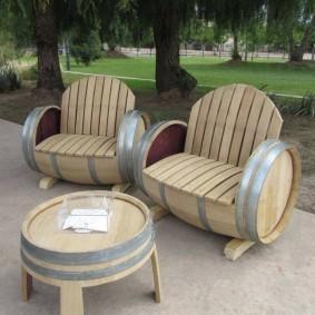 мебель для сада оформление