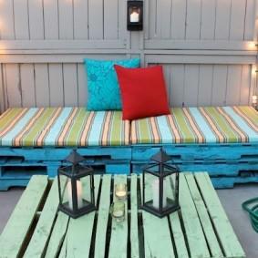 мебель для сада фото оформление