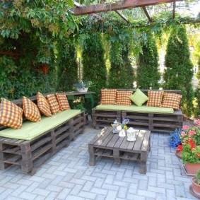 мебель для сада обзор фото