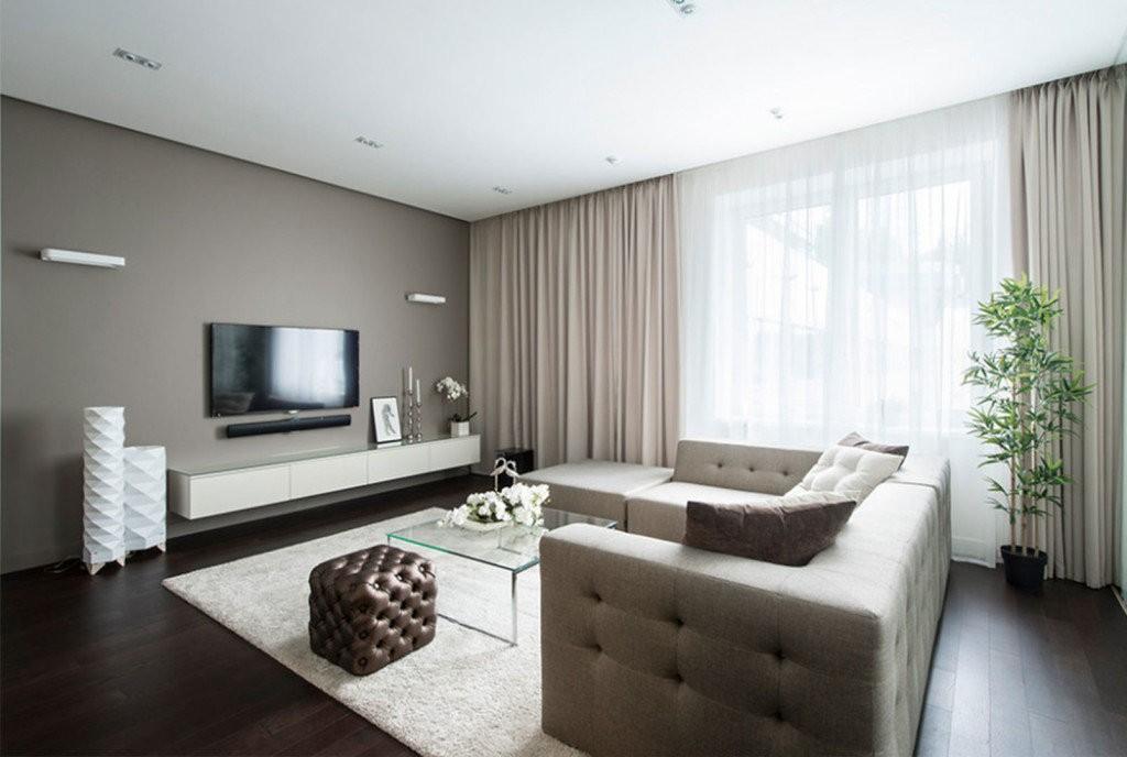 Меблировка гостиной комнаты площадью 25 кв метров