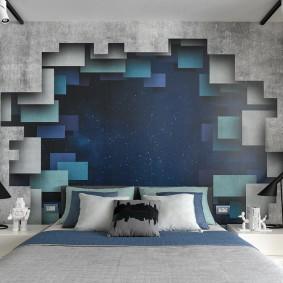 обои для спальни 2020 фото дизайна