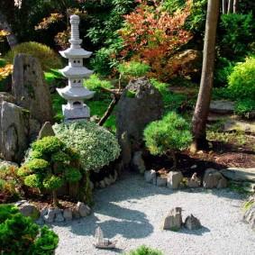 обустройство маленького сада оформление фото