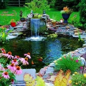 обустройство маленького сада варианты фото
