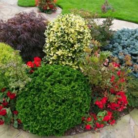 обустройство маленького сада фото варианты