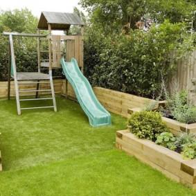 обустройство маленького сада виды