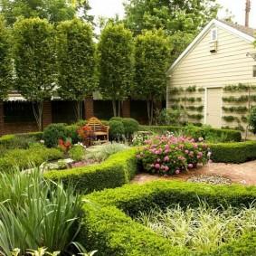 обустройство маленького сада виды фото